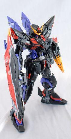 Custom Build: MG 1/100 Blitz Gundam [Detailed] - Gundam Kits Collection News and Reviews