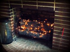 Bring warmth to your fireplace even if you're not ready for the heat
