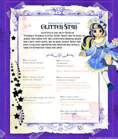 Glitter Star Ever After High OC by Sakuyamon.deviantart.com on @deviantART