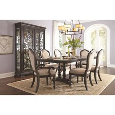 Samuel Lawrence Monarch 7 Piece Dining Set