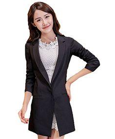 My Wonderful World Women's One Button Slim Casual Lady Blazer Suit Small Black My Wonderful World Blazer Coat Jacket http://www.amazon.com/dp/B018QPRCR4/ref=cm_sw_r_pi_dp_ffcxwb08HRTRW