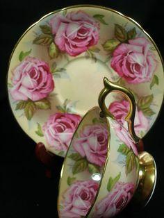AYNSLEY Cabinet Tea cup & saucer / eBay