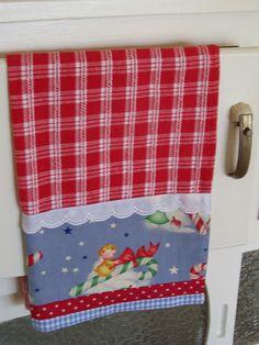 Vintage look Christmas tea towel   Flickr - Photo Sharing!