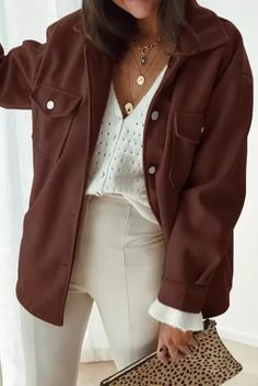 Clothing Length:Regular Age:Ages 18-35 Years Old Collar:Turn-down Collar Closure - #coatsforwomen #coatsforwomenwinter #coatsforwomencasual #coatsforwomenclassy #coatsforwomenclassyelegant #coatsjackets #coatsjacketswomen #coatsforwomen2020 #coatsforwomen2020fashiontrends #streettide Overalls Vintage, 2020 Fashion Trends, Vintage Coat, Fall Jackets, Coats For Women, Sleeve Styles, Winter Outfits, Black And Grey, Classy