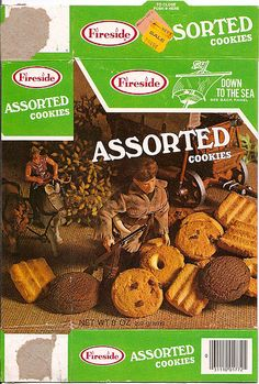 I loved these assorted cookies as a child. I remember them coming in a bag, but these are them. I wish they still made these.