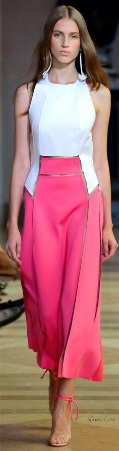 awesome Carolina Herrera Spring 2016...