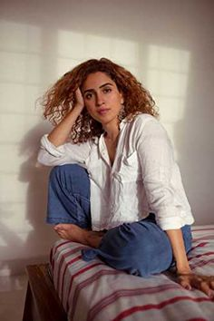 Bollywood Celebrities, Bollywood Actress, Sanya Malhotra, Vsco Photography, Salma Hayek, Indian Outfits, Indian Actresses, Girl Crushes, Casual Wear