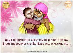 Shirdi Sai Baba Blessings - Experiences Part 2681 Prayer Quotes, My Prayer, Sai Baba Miracles, Miracle Stories, Somehow I Manage, Sai Baba Quotes, Sai Baba Pictures, Never Lose Hope, Om Sai Ram