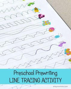 Preschool Prewriting