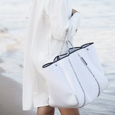 State of Escape | ESCAPE bag in white with blended rope - great work and/travel bag