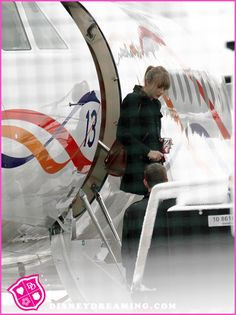 Taylor Swift Has The Number 13 On Her Private Jet