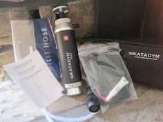 Katadyn Water Filter - www.naturaldads.blogspot.com