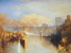 Ancient Rome, Agrippina landing with the ashes of Germanicus (Joseph Mallord William Turner)