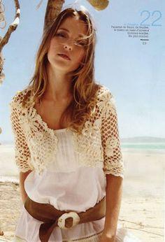 Outstanding Crochet: Crochet Bolero.                              …