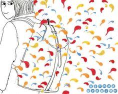 Backpack design #illustration  #backpackdesign #Muster #musterdesign #illustrationoftheday #abstractdesign #surfacepattern #patternlove  #textil #arteveryday #printingpatterns #instaartist #berlinillustrators  #picame #illustrationworks  #illustree #womenwhodraw editorial illustratorin illustrator mode Fashion Trends Illustration monotypie printmaker Drucktechnik muster pattern patterndesign oberflächendesign