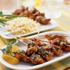 Martin's Moroccan Chicken Kebobs and 17 other easy camping or bbq recipes