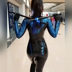 Latex Cosplay, Anime Cosplay, Cosplay Diy, Cosplay Outfits, Cosplay Girls, Cosplay Costumes, Rogue Cosplay, Nightwing Cosplay, Tim Drake