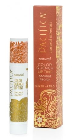 Color Quench Lip Tint - Coconut Nectar | Pacifica Perfume...Found this at Target and I love it!  Vegan lip balm with a touch of color.  Love,love,love!