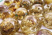Custom Space Enhancer Dome - Lightstones Orgone , orgonite, EMF protection, orgone pendants, orgone devices, energy jewelry