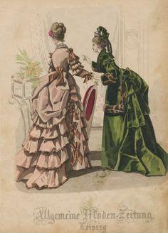 Allgemeine Moden Zeitung circa 1873