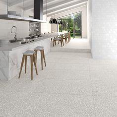 VIVES - Portofino Humo 80x80 | Kitchen | terrazo aesthetic | minimal kitchen | cocina