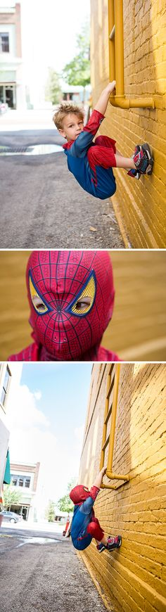 Spiderman Swings Into Historic Sanford by Rachel V Photography