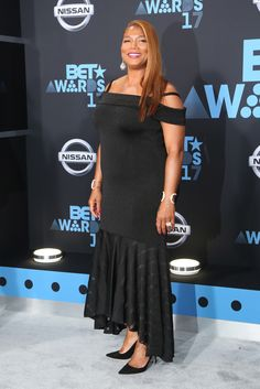 Queen Latifah at the 2017 BET Awards at Microsoft Square on June 25, 2017 in Los Angeles, California.