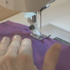 Teach Yourself to Sew offers step-by-step video instruction on everything thing you need to get started in sewing -- including tips, basic garment sewing techniques, and free projects.  |  Threads Magazine