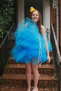 A Loofah | 27 Simple Costumes You Can Totally Make The Day Before Halloween