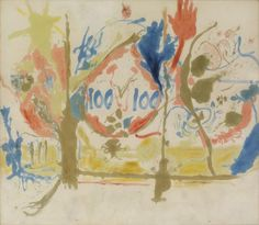 Helen Frankenthaler (1956) Eden. http://www.frankenthalerfoundation.org/artworks/paintings