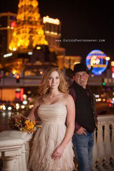 Las Vegas Strip Wedding Photos {Tabby and Tory} - Las Vegas Event and Wedding Photographer
