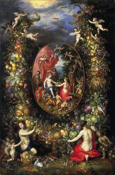 Jan_Brueghel_-_Krans_van_vruchten_en_bloemen_rond_een_allegorie_op_de_landbouw.jpg 1,200×1,831 pixels