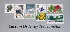 Reserved Custom Order for Rachel. Unused Vintage US Postage Stamps for mailing…