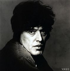 Vogue, March 1984  British playwright Tom Stoppard  Photographed by Irving Penn