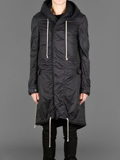 Men's Black Fishtail Parka | Fishtail parka, Fishtail and Rick owens