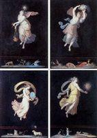 Les quatre heures de la journée von Michelangelo Maestri