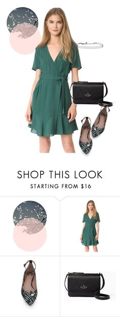 """dress"" by masayuki4499 ❤ liked on Polyvore featuring A.L.C., Kate Spade and Kenneth Jay Lane"