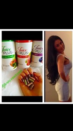 Carly's results  No extensions  Healthy hair  Strong nails... #noextensions #longhairdontcare #clearskin #strongnails #nutrition #healthyliving #juiceplus #premiumcapsules