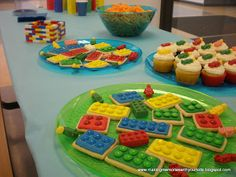 Lego Birthday party.  TONS of ideas for games and food. #LegoDuploParty