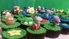 Plants vs. Zombies cupcakes - May not still be relevant by then, but we love this game now.