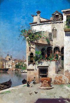 A Quiet Afternoon in Venice | Martin Rico y Ortega, Spanish, 1833-1908