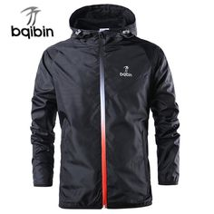 Cheap sport coat, Buy Quality sport coat  2018 New Spring Summer Mens Fashion Outerwear Windbreaker Men' S Thin Jackets Hooded Casual Sporting Coat
