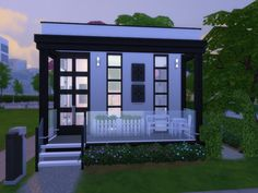 Pxi Perfect is a Cubic home built in Newcrest at the Oak Alcove lot which is a 20x15 lot.  Found in TSR Category 'Sims 4 Residential Lots'