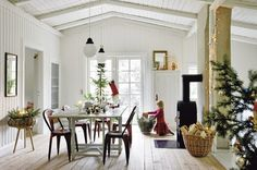 From Scandinavia with love - design  style (A Christmas home in Denmark. Photo by Frederikke...)