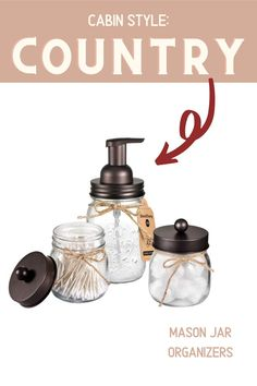 Add fresh farmhouse style to your country cabin with these rustic decor finds. *All products featured are selected by our editors. When you make a purchase through a qualifying link, we may earn a commission via affiliate programs with Amazon.com and other retailers.