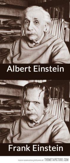 Albert Einstein…