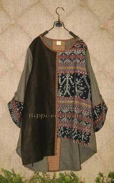 blouse batik tambal