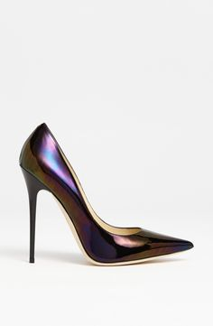 Jimmy Choo 'Anouk' Pump in Petrol