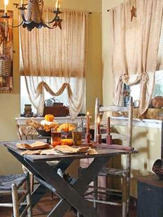 Make cheesecloth curtains and other window treatments with this advice from CountrySampler.com!