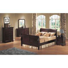Bordeaux 5 Piece Bedroom Set: -1 mirror, +1 nightstand = $820.91